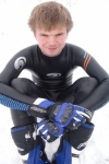 Gordon ( blueseventy axium wetsuit in the snow)