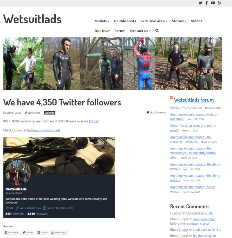 Wetsuitlads new look - 06-04-2020