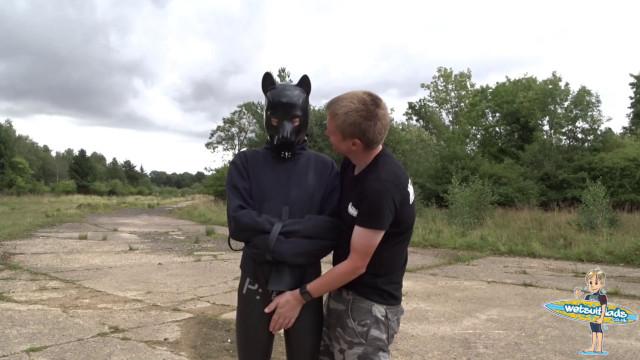 Getting Matt in the straitjacket
