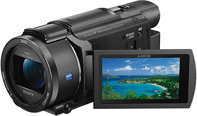 Sony FDR-AX53 Ultra HD 4K Compact Camcorder